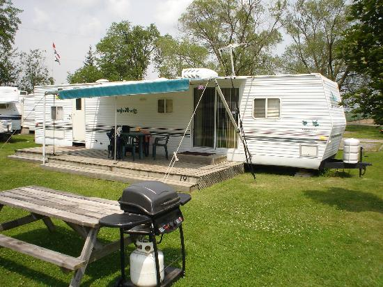 "Niagara RV Rentals: Front of a Two-Bedroom ""A"" unit"