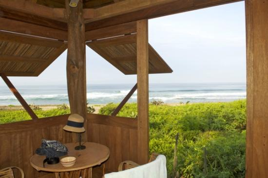 Playa Viva: View from our eco casita