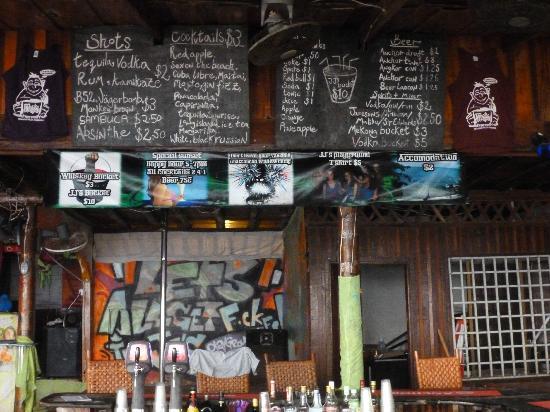 JJ's Playground: JJ's bar in the daytime.