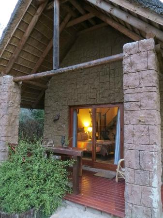 Nyaru Private Game Lodge: Our chalet
