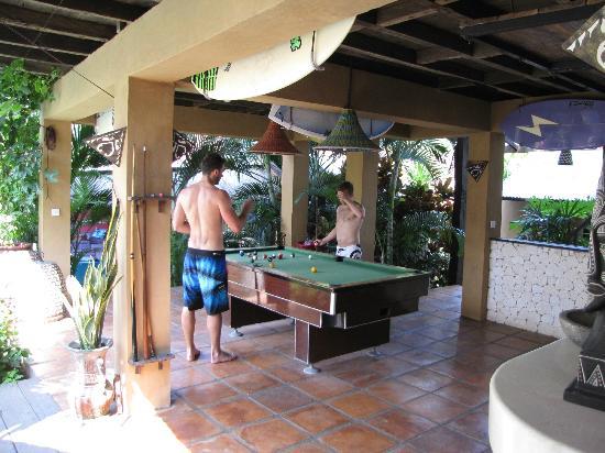 Rapture Surfcamp Bali: Bar area
