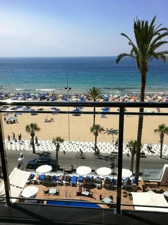 Sol Costablanca: vieuw from room 404