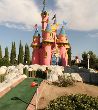 Bakersfield, Californie : Mini Golf