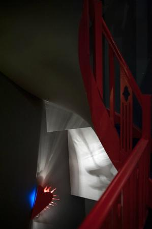 Monty Design Hotel : No lift only these stairs with lovely lights