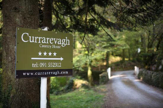 Entrance to Currarevagh House