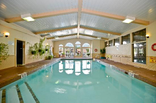 Country Squire Resort & Spa: Indoor pool, hot tub & steam room