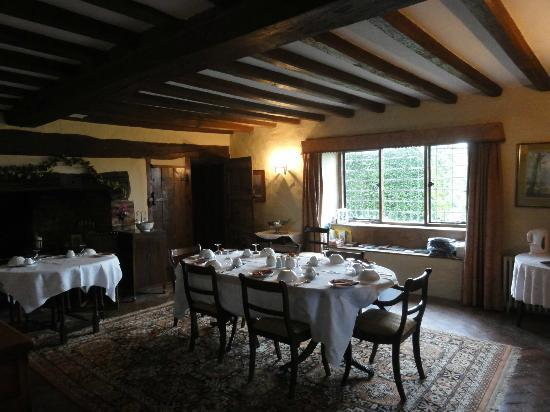 Wickham Manor Farm: Dining room
