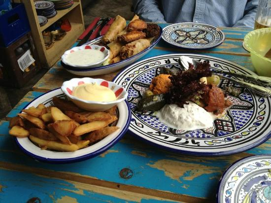 lunch for 2 - picture of bazar, rotterdam - tripadvisor