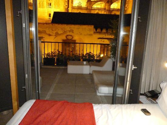 Foto de eme catedral hotel sevilla terraza privada de la - Terraza hotel eme ...