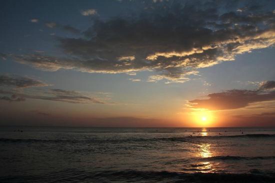 Masa Inn: Kutastrand - Sonnenuntergang