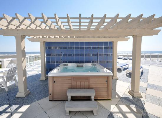 Pan American Hotel: Penthouse Rooftop Hot Tub
