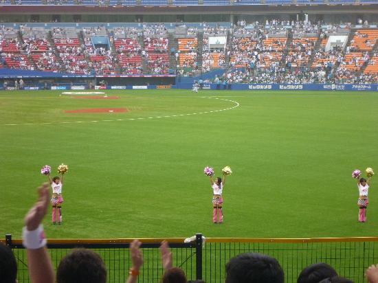 ZOZO Marine Stadium: Post-game celebration