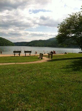 Covington, VA: Swimming beach near Dam