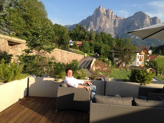 Hotel Alpenflora: panorama dalla terrazza