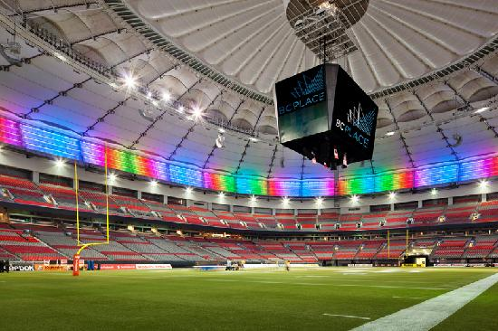 Inside Bc Place Picture Of B C Place Stadium Vancouver