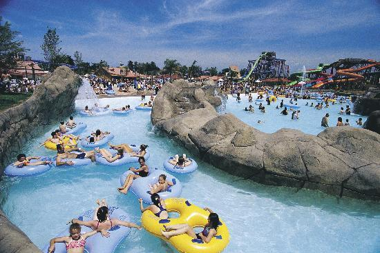 อิลลินอยส์: Hurricane Harbor at Six Flags Great America, Gurnee