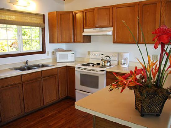 Dunbar Beachfront Cottages: Pauwalu Kitchen