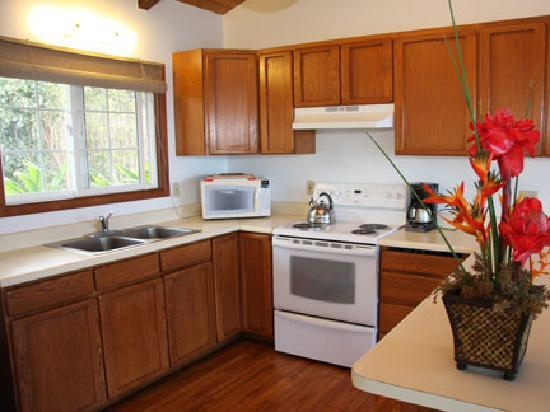 Dunbar Beachfront Cottages: Pu'unana Kitchen