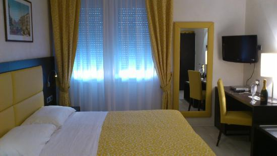 Hotel La Pergola di Venezia: chambre