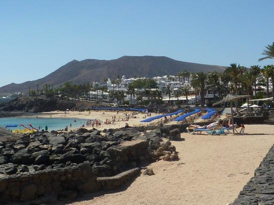 View of resort on walk back from Playa Blanca town