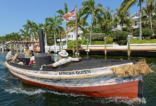 Key Largo, FL: African Queen Canal Cruise