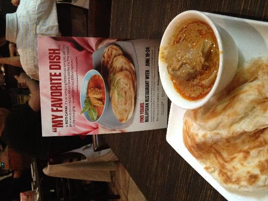 New Malaysia: Roti Canai..