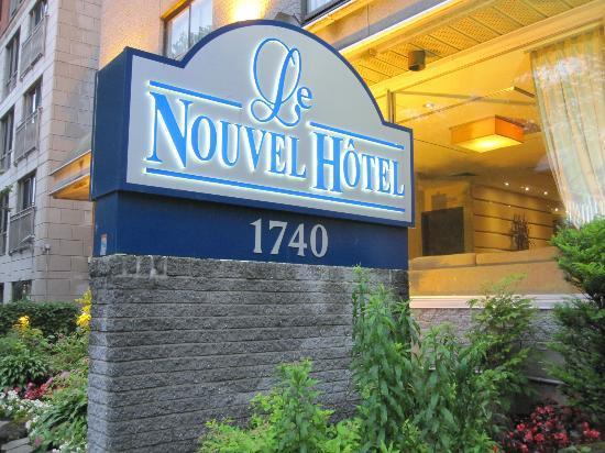 Le Nouvel Hotel: entrée