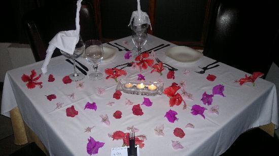 Da Marco Italian Restaurant : mesa