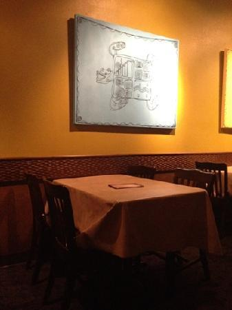 Casa Milagro: table