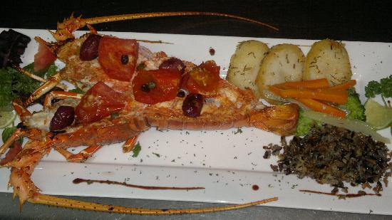 Da Marco Italian Restaurant : langosta al horno