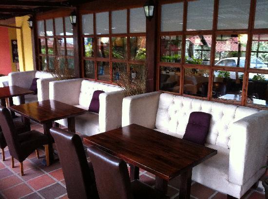 Da Marco Italian Restaurant : terraza