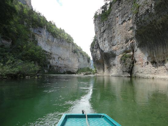 Les detroits in the Gorges du Tarn