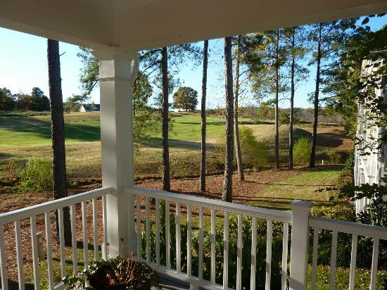 Cottages at Cherokee Valley : Cottage view nice wrap porches with rockers
