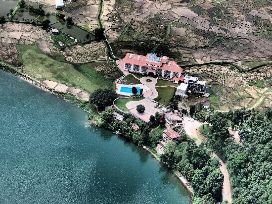 Waterfront Resort Hotel: From the Skies- Paragliding