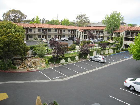 BEST WESTERN Casa Grande Inn: Blick aus der 3ten Ettage