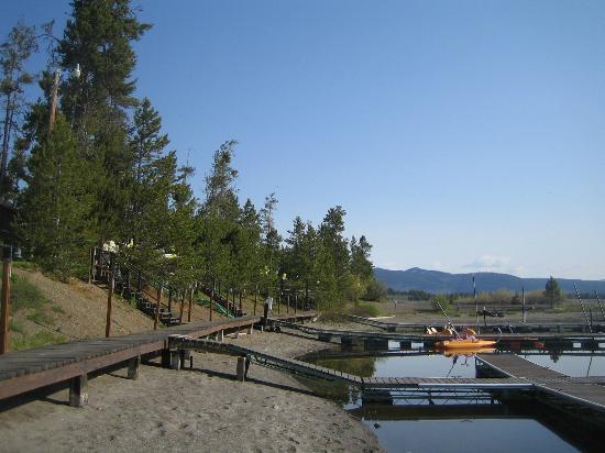 Boat dock at Madison Arm Resort