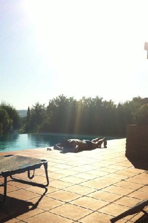 Villa del Pino: poolside in Pino