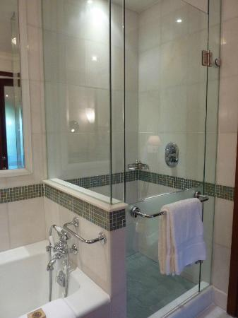 Four Seasons Hotel Istanbul at Sultanahmet : shower