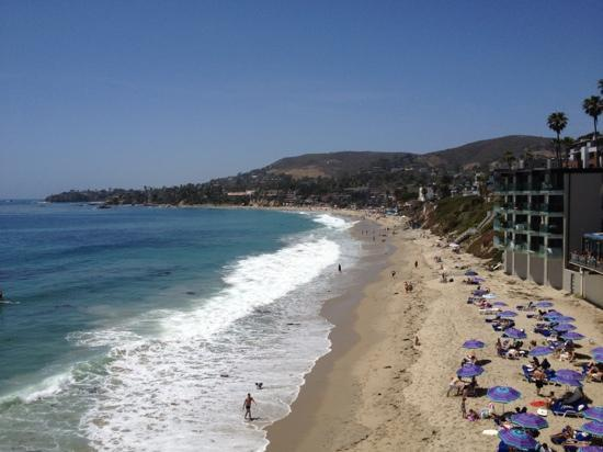 Pacific Edge Hotel on Laguna Beach: view from jr suite