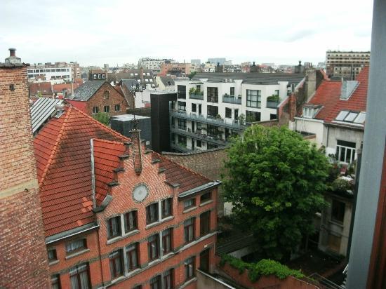 Astrid Centre Hotel Brussels: vista sui tetti e cortili antistanti l'hotel Astrid