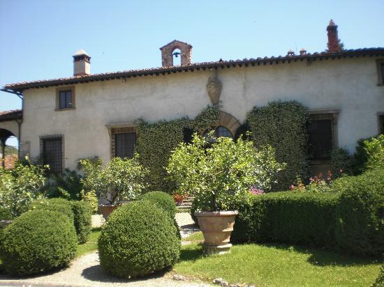 Villa Rucellai: la villa