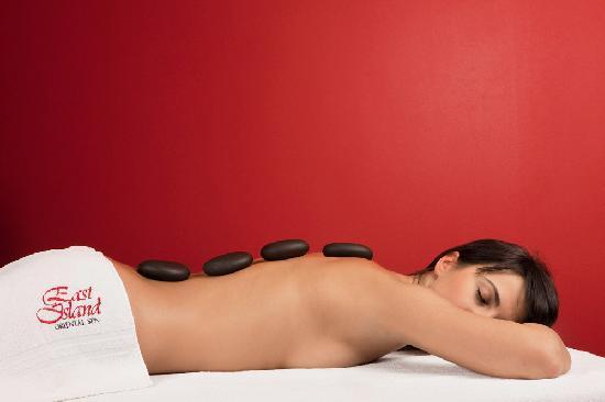 East Island Spa Centre: Hot stone massage