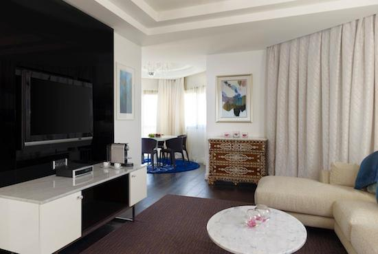 Le Meridien Al Khobar : Executive Suite Living Room