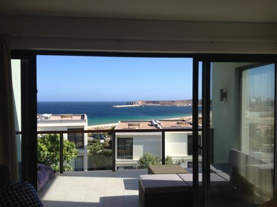 Martinhal Sagres Beach Resort & Hotel: The view from our Ocean House.