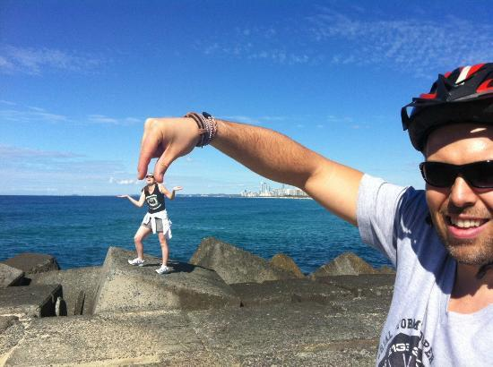 Bunyip Bike Tours: This is just one of the many funny photos we took on the tour!
