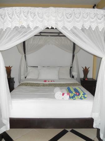 Amed Beach Resort: le lit