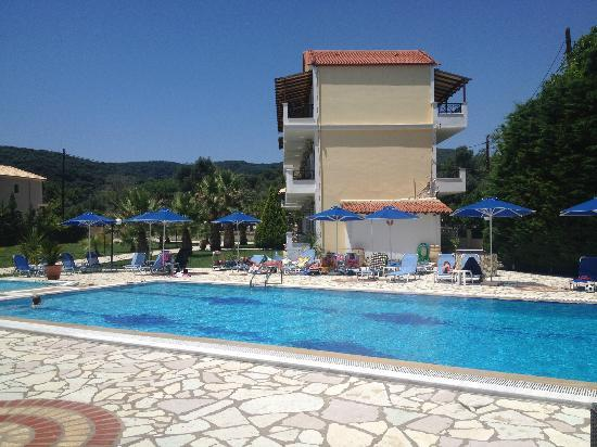 Byzantio Hotel Apartments: View from the bar