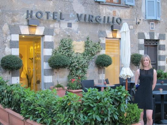 Hotel Virgilio: Before sleeping there