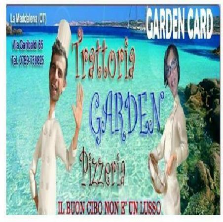 Garden Pub: Garden Trattoria Pizzeria !!!