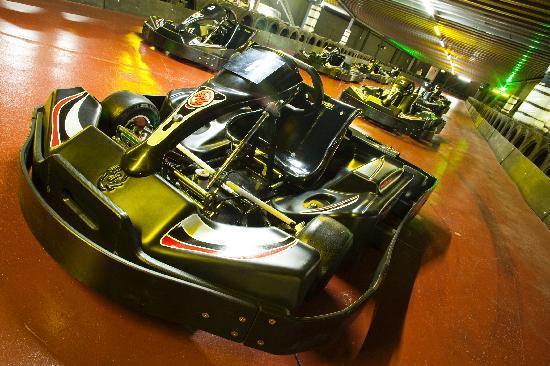 TeamSport Go Karting London Tower Bridge: Evo II 40mph Karts
